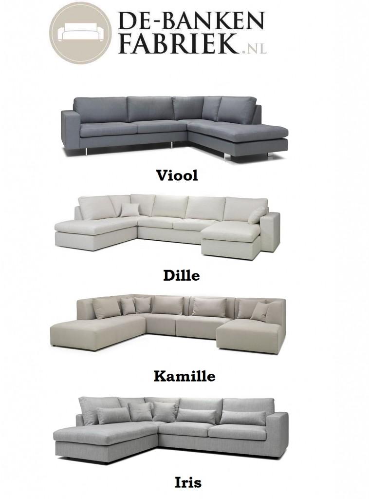 Comfortabele zitbanken