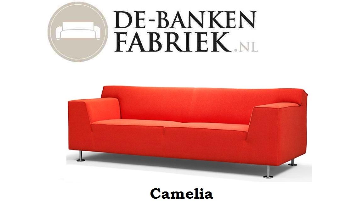 Rode Hoekbank Stof.Rode Bank De Bankenfabriek