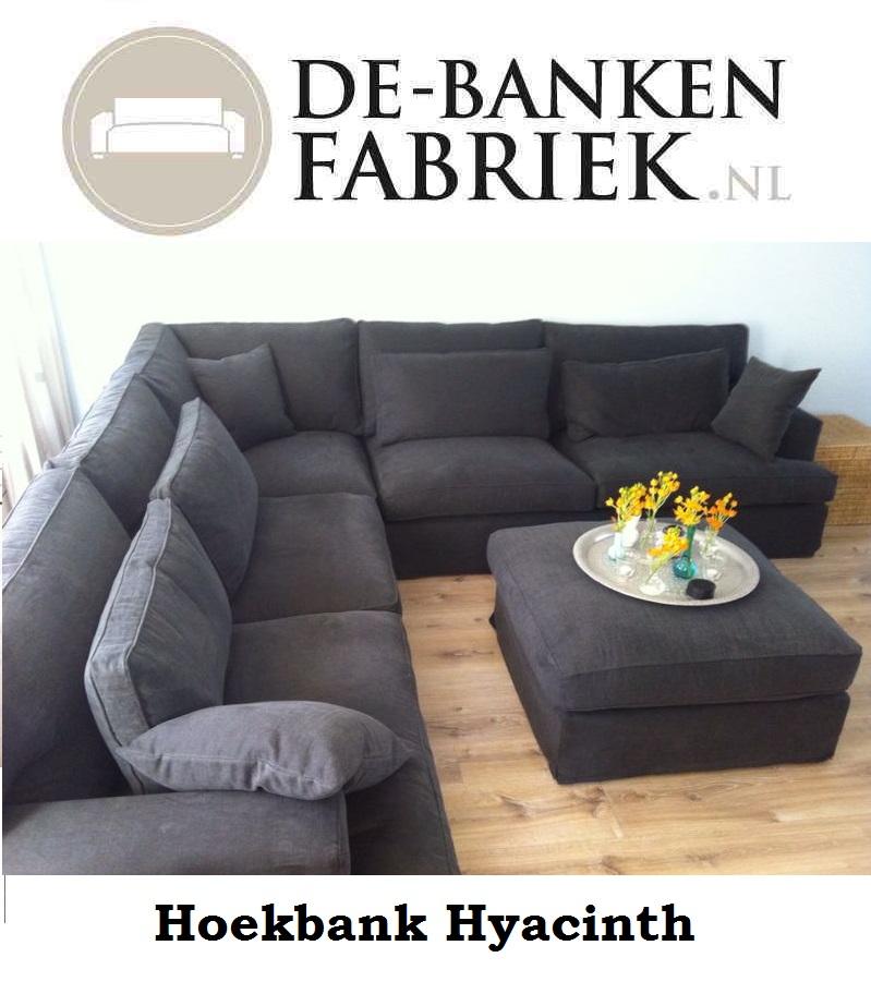 Comfortabele Grijze Hoekbank.Comfortabele Banken De Bankenfabriek