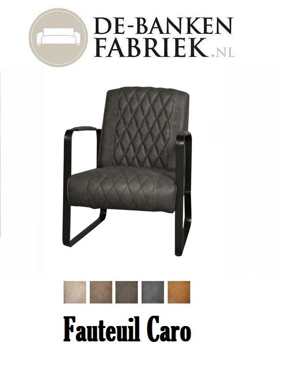 fauteuil Caro met bijpassende eetkamerstoeltjes