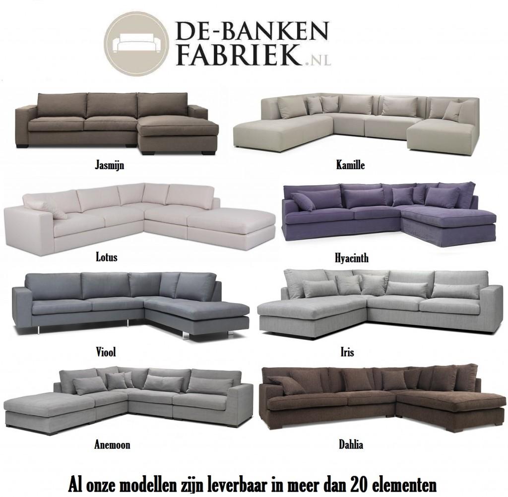 stijlvolle banken Alkmaar in verschillende soorten