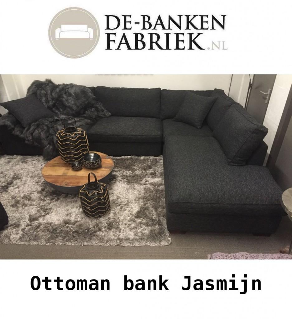 Ottoman hoekbank Jasmijn online