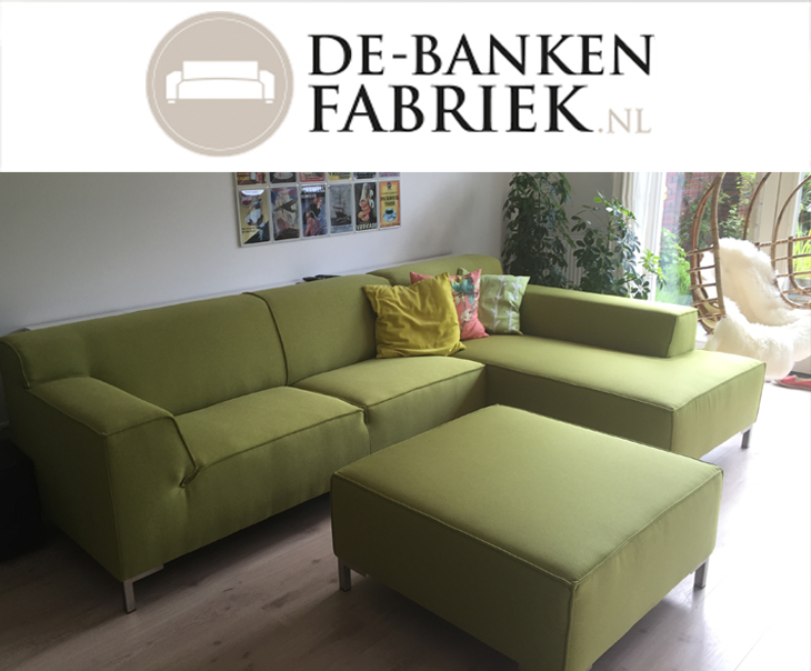 Chaise longue banken de bankenfabriek for Banken met chaise longue